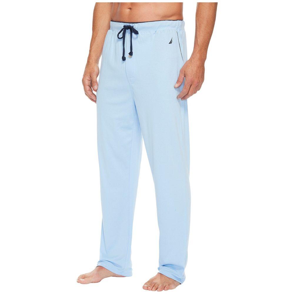 最新作の ノーティカ メンズ インナー・下着 パジャマ メンズ Pants】Noon・ボトムのみ Sleep【Knit Sleep Pants】Noon Blue, Orange Line:95b790f2 --- hortafacil.dominiotemporario.com