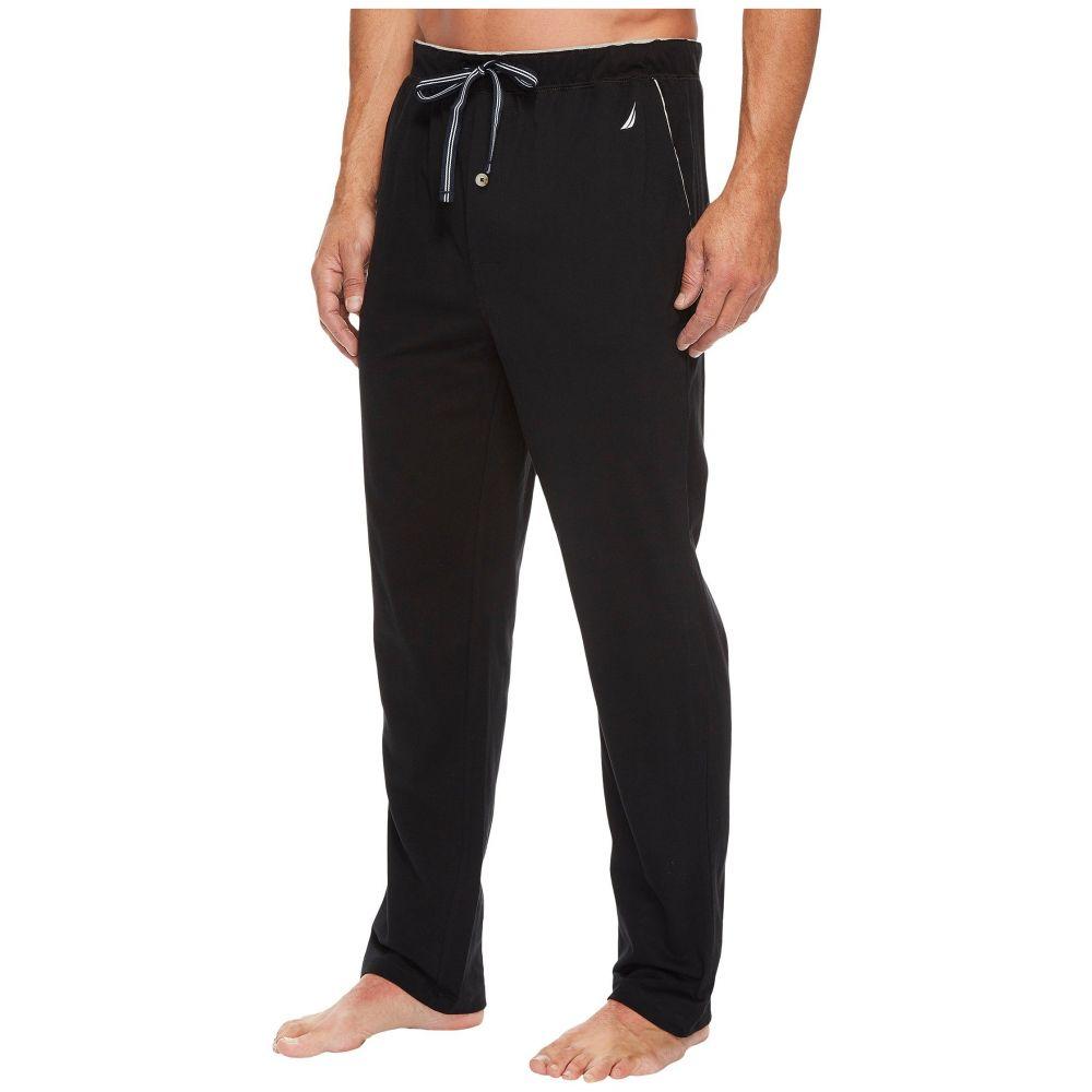 お待たせ! ノーティカ メンズ インナー・下着 Black Sleep パジャマ・ボトムのみ ノーティカ【Knit Sleep Pants】True Black, シムススタイル:7c6a15e1 --- supercanaltv.zonalivresh.dominiotemporario.com
