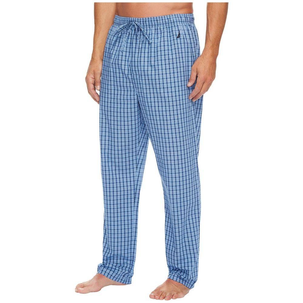 【着後レビューで 送料無料】 ノーティカ メンズ インナー・下着 パジャマ・ボトムのみ メンズ【Plaid Pants】Light Sleep Pants French】Light French Blue, ハイカラン屋:7052b441 --- pokemongo-mtm.xyz
