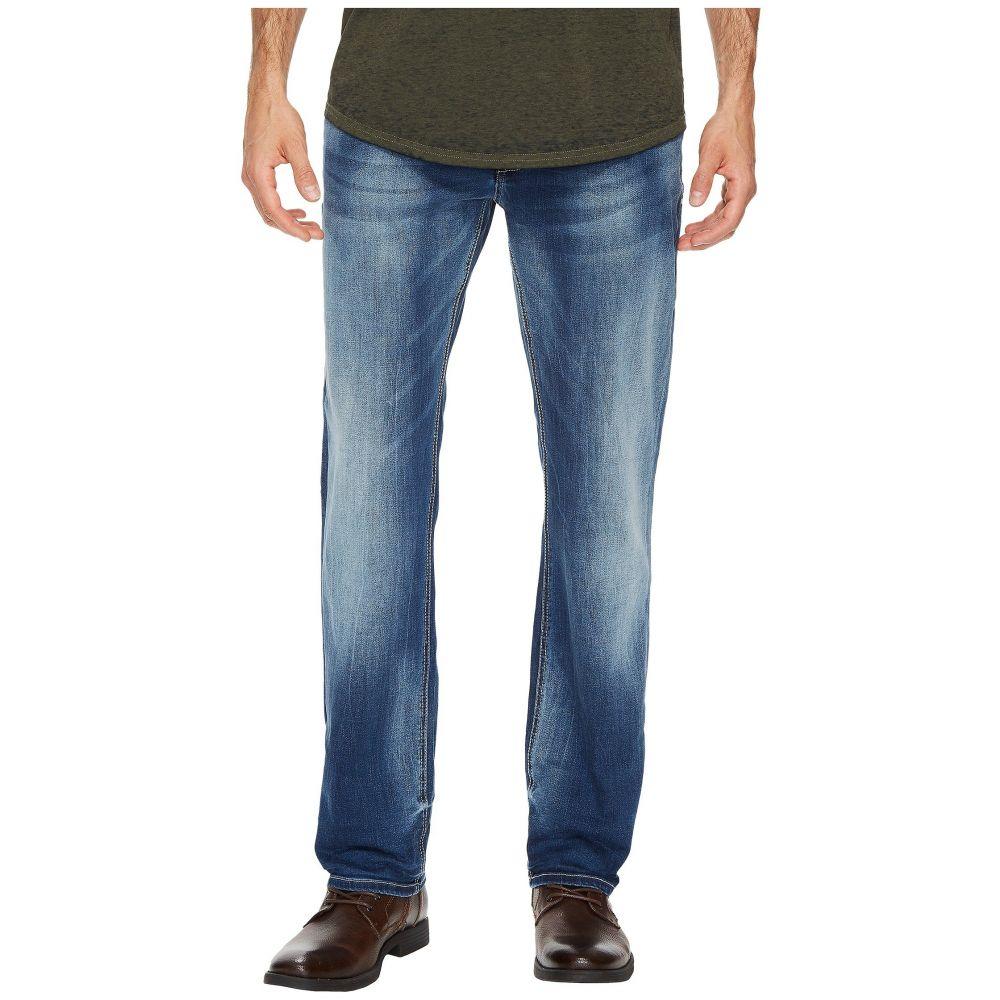 バッファロー デビッド ビトン メンズ ボトムス・パンツ ジーンズ・デニム【Evan-X Slim Straight Leg Jeans in Veined and Whiskered】Veined and Whiskered