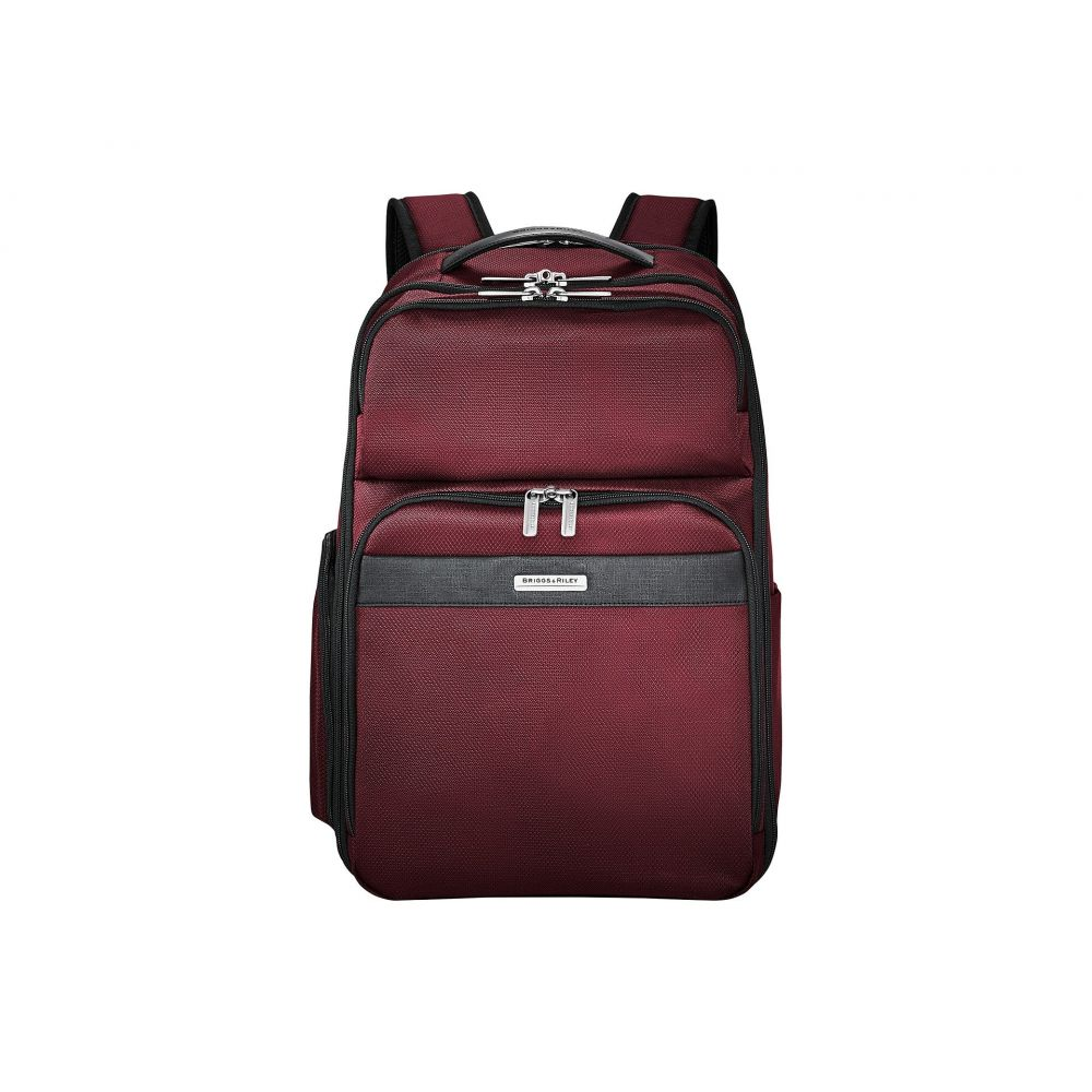 ブリッグスアンドライリー メンズ バッグ バックパック・リュック【Transcend VX Cargo Backpack】Merlot Red
