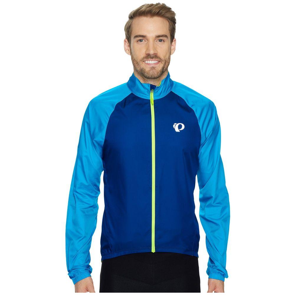 パールイズミ メンズ 自転車 アウター【ELITE Barrier Cycling Jacket】Blue Depths/Bel Air Blue