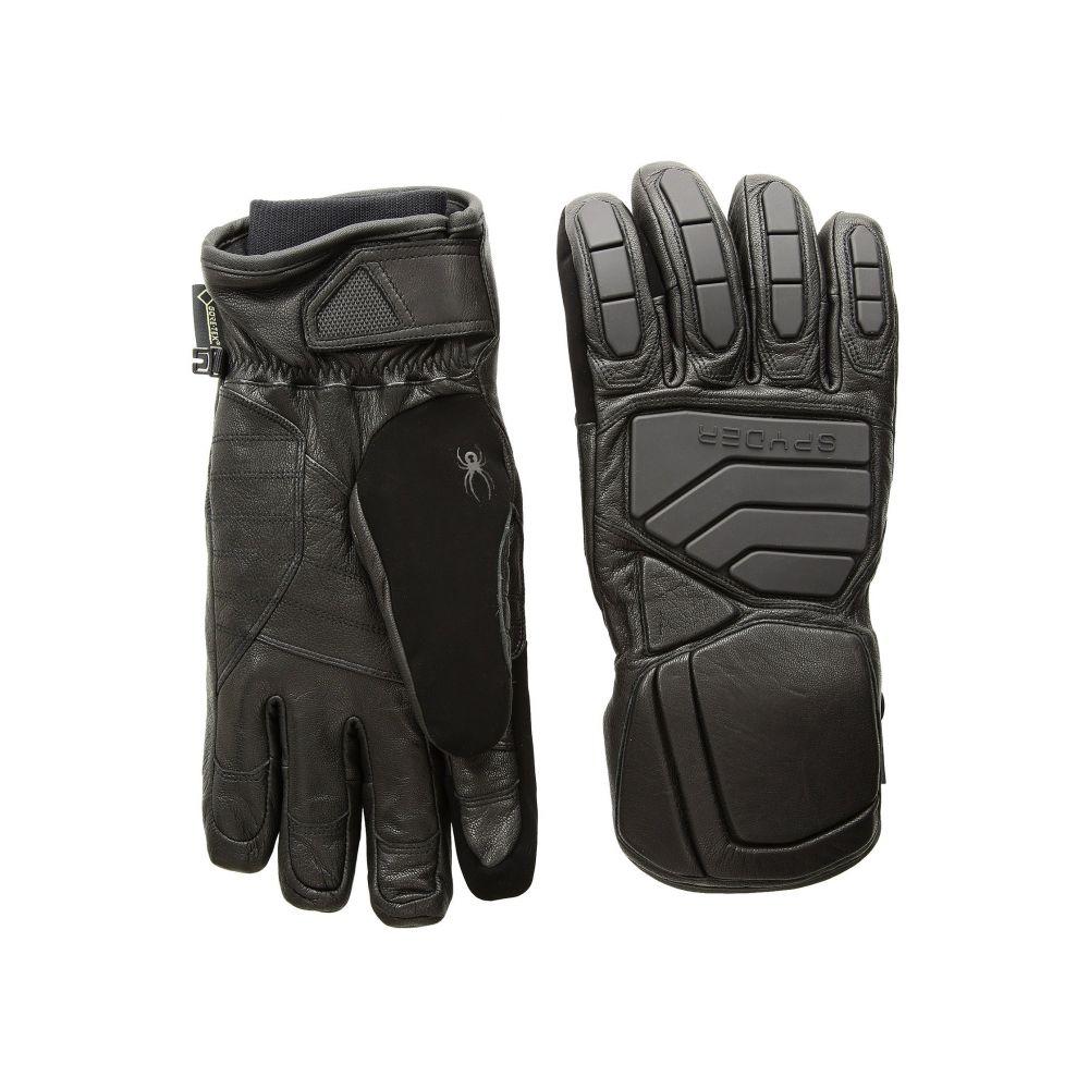 スパイダー メンズ スキー・スノーボード グローブ【B.A. Gore-Tex Ski Gloves】Black/Black