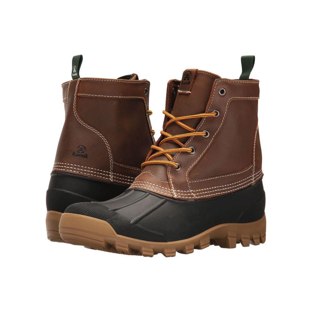 カミック メンズ シューズ・靴 レインシューズ・長靴【Yukon 5】Dark Brown