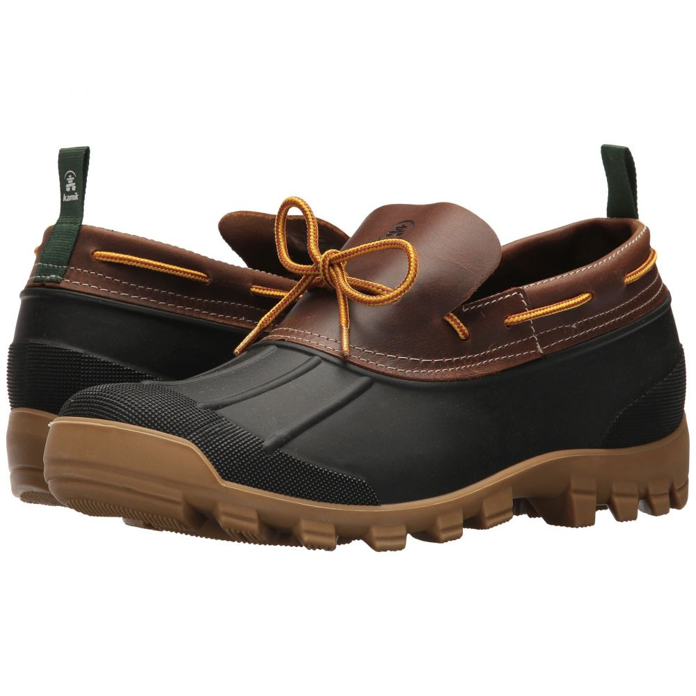 カミック メンズ シューズ・靴 レインシューズ・長靴【Yukon S】Dark Brown