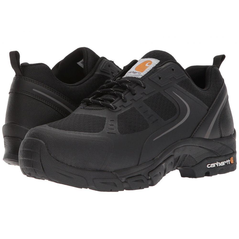 カーハート メンズ シューズ・靴 スニーカー【Lightweight Low Work Hiker Boot Steel Toe】Black Nylon Mesh