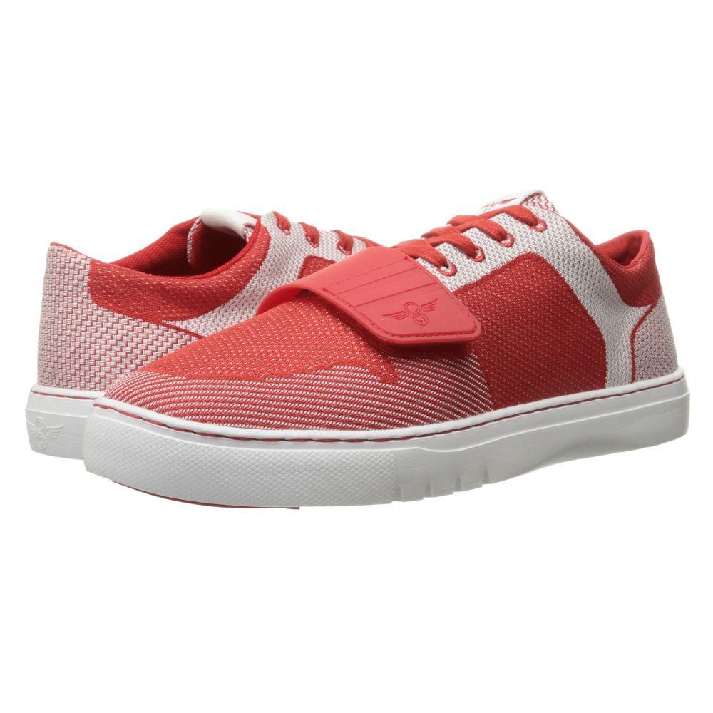 b418480937 クリエイティブ レクリエーション メンズ シューズ・靴 スニーカー【Cesario Lo Woven】Red/White
