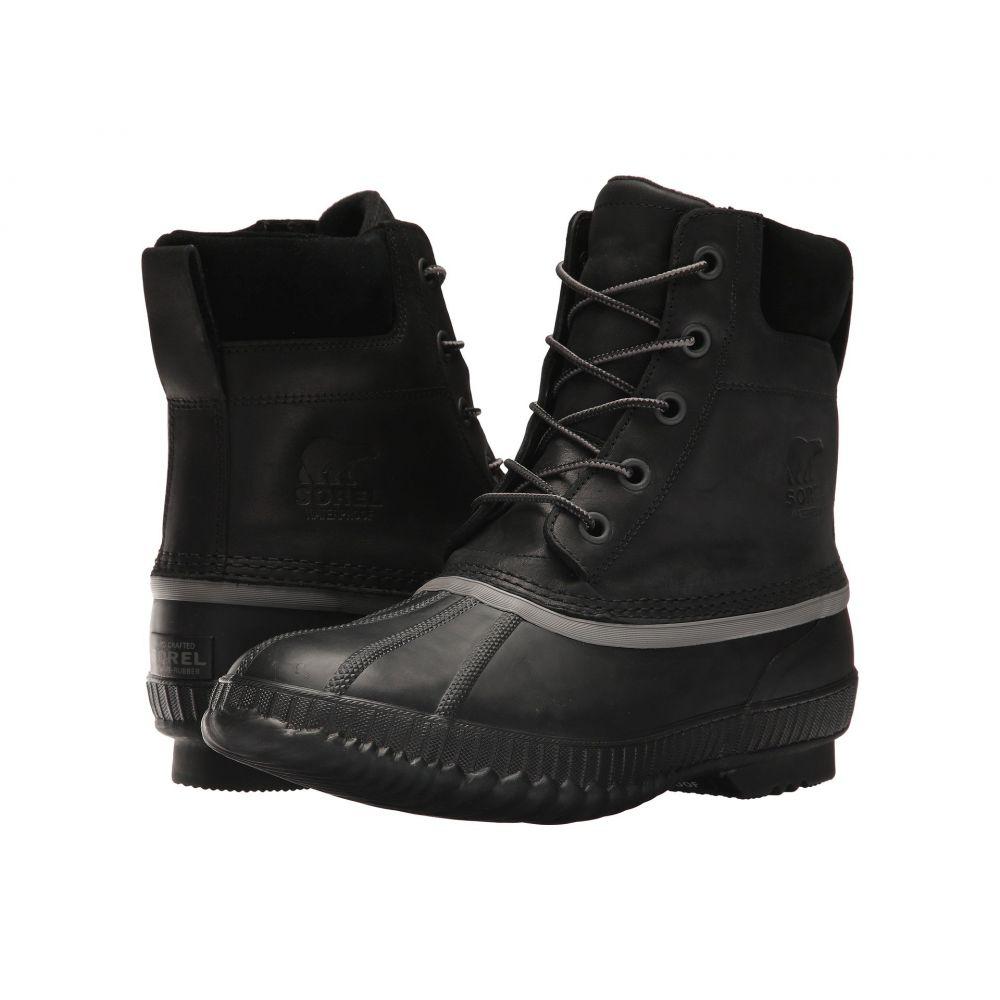ソレル メンズ シューズ・靴 レインシューズ・長靴【Cheyanne II】Black
