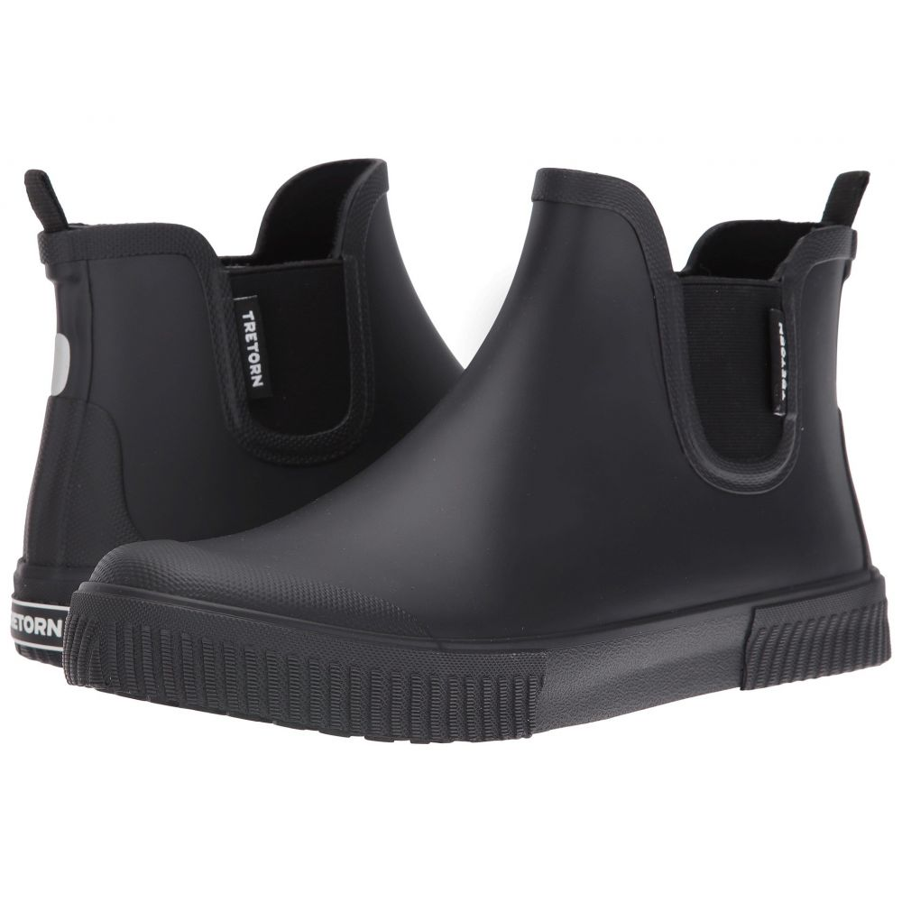 トレトン メンズ シューズ・靴 レインシューズ・長靴【Gus】Black/Black/Black