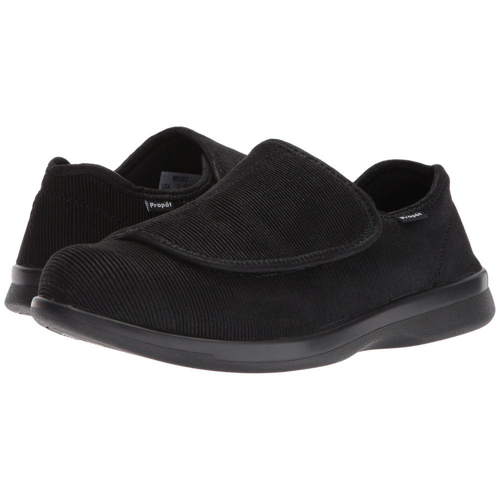 プロペット メンズ シューズ・靴 スリッパ【Cush 'n Foot Medicare/HCPCS Code = A5500 Diabetic Shoe】Black Corduroy