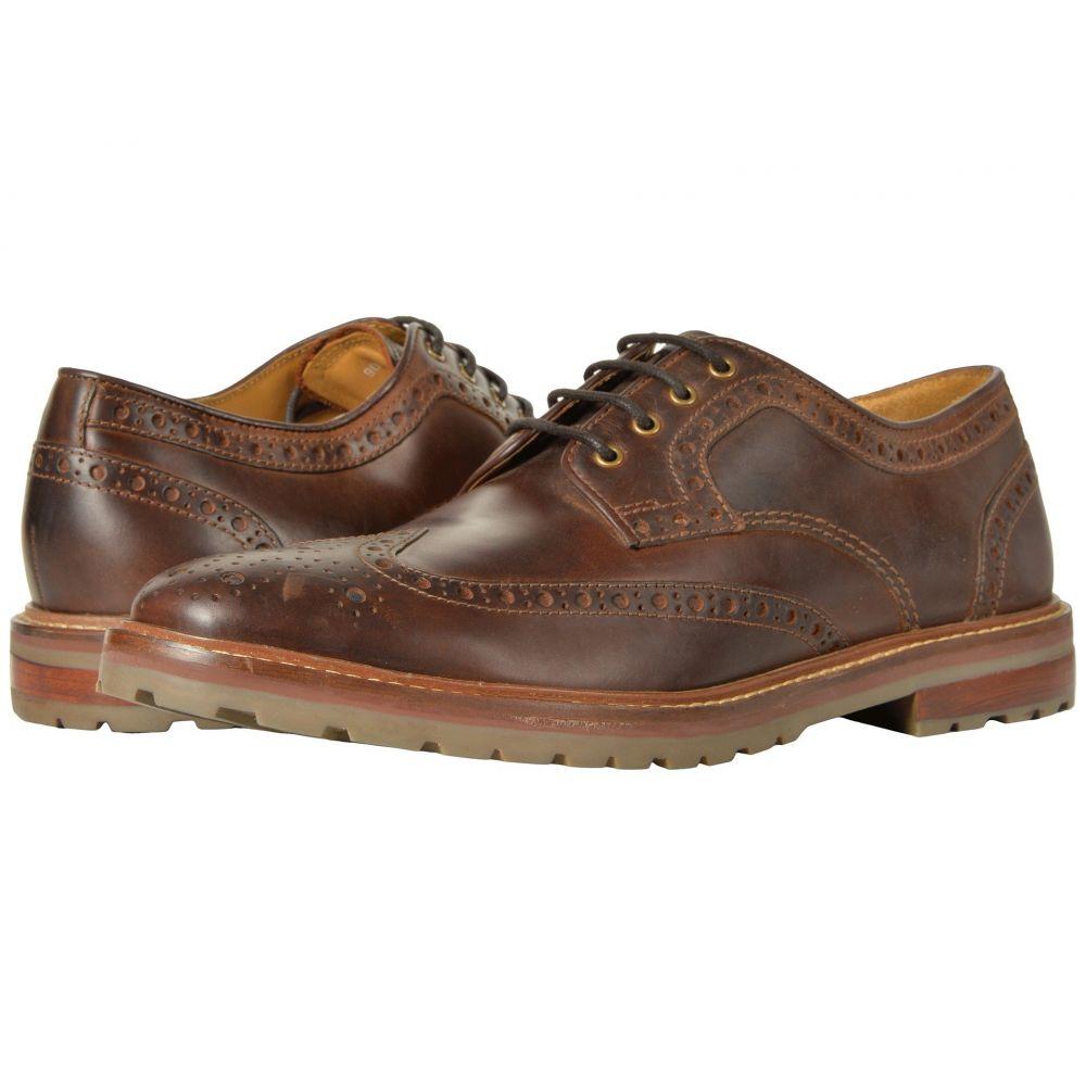 フローシャイム メンズ シューズ・靴 革靴・ビジネスシューズ【Estabrook Wingtip Oxford】Brown Crazy Horse