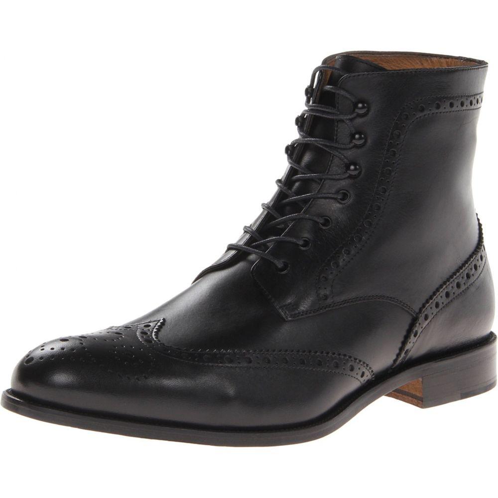 マッテオ マッシモ メンズ シューズ・靴 ブーツ【7-Eye Wing Boot】Black