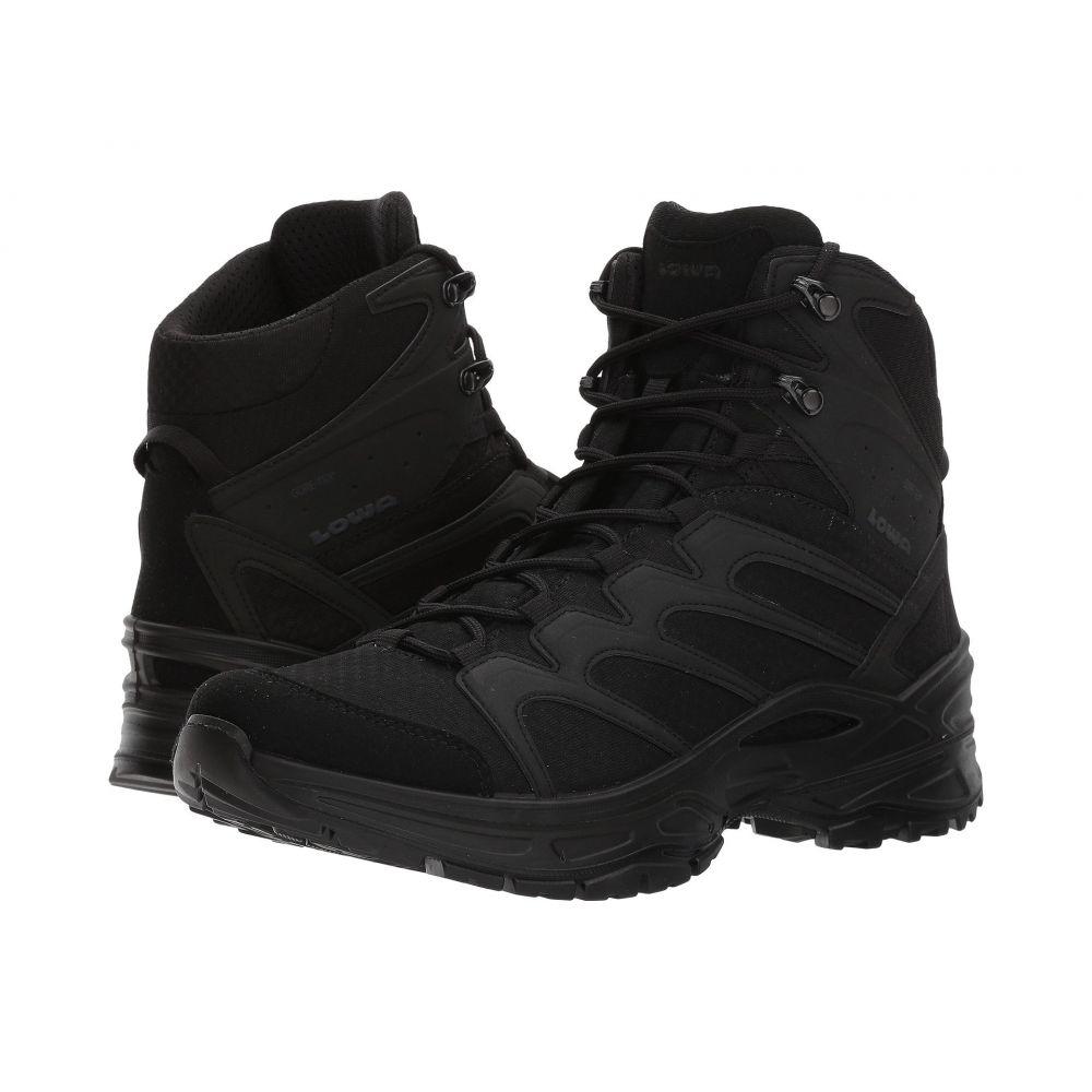 ロワ メンズ ハイキング・登山 シューズ・靴【Innox GTX Mid TF】Black