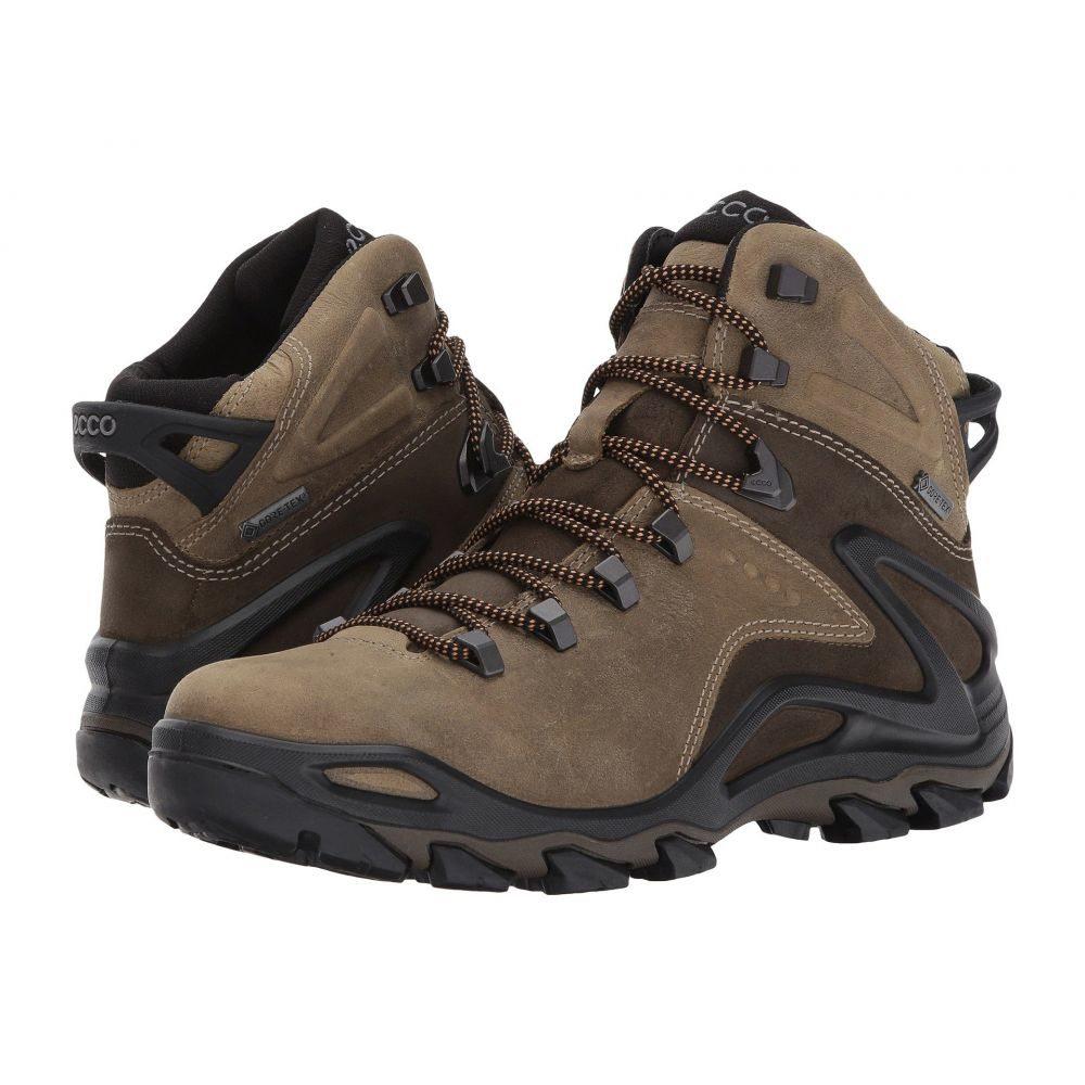 エコー メンズ ハイキング・登山 シューズ・靴【Terra Evo High Gore-Tex】Navajo Brown/Birch