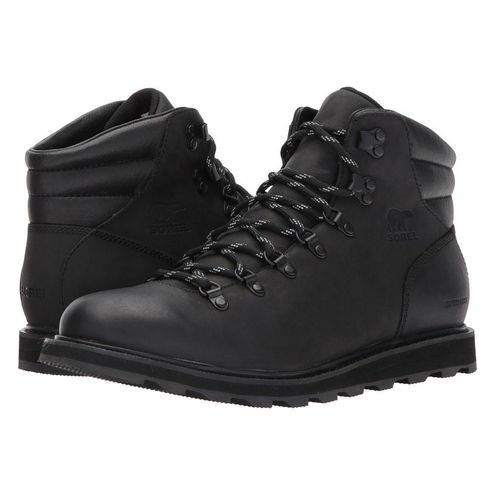 【福袋セール】 ソレル メンズ ハイキング・登山 Hiker シューズ Waterproof】Black・靴【Madson Hiker メンズ Waterproof】Black, Mon Juillet:f5fa1f90 --- canoncity.azurewebsites.net
