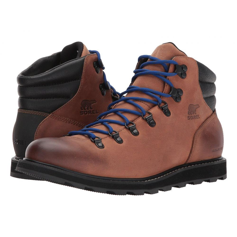 ソレル メンズ ハイキング・登山 シューズ・靴【Madson Hiker Waterproof】Elk/Black