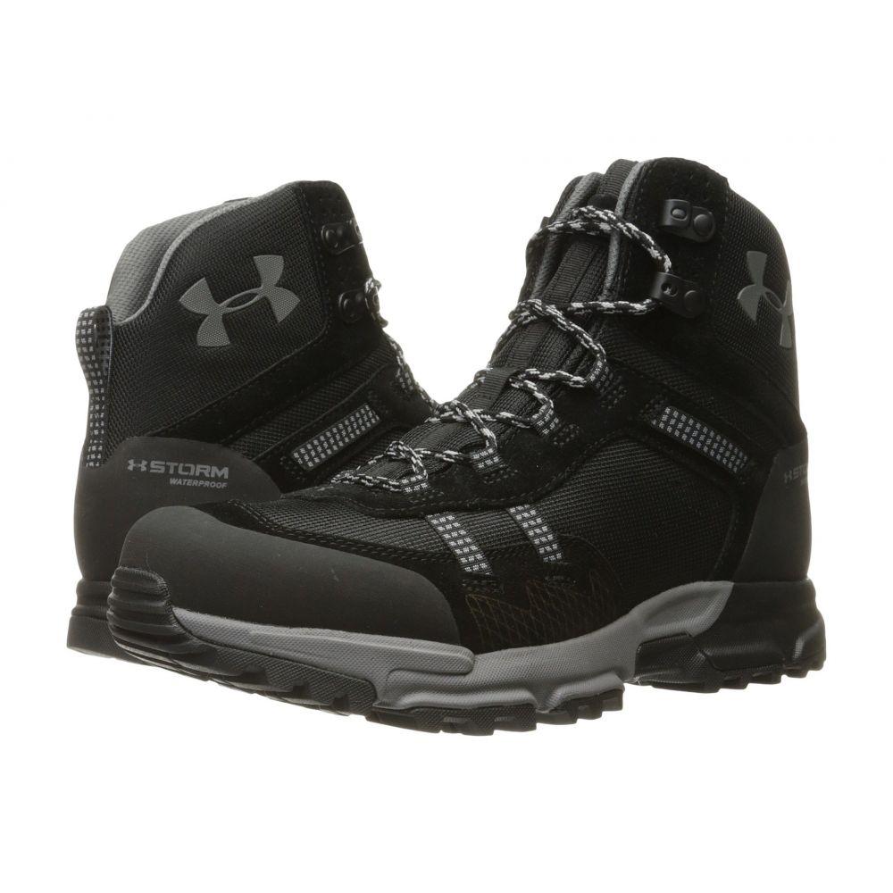アンダーアーマー メンズ ハイキング・登山 シューズ・靴【UA Post Canyon Mid Waterproof】Black/Black/Graphite