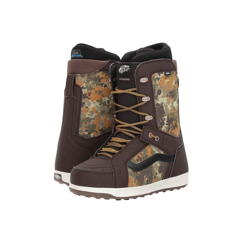 ヴァンズ メンズ ハイキング・登山 シューズ・靴【Hi-Standard】Camo