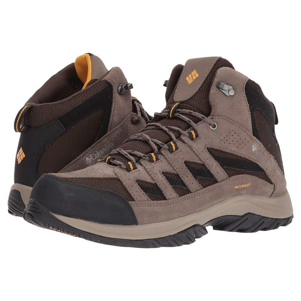 【500円引きクーポン】 コロンビア コロンビア メンズ メンズ ハイキング Mid・登山 シューズ・靴【Crestwood Mid Waterproof】Cordovan/Squash, オウミハチマンシ:2d8a366a --- retedifamiglie.it