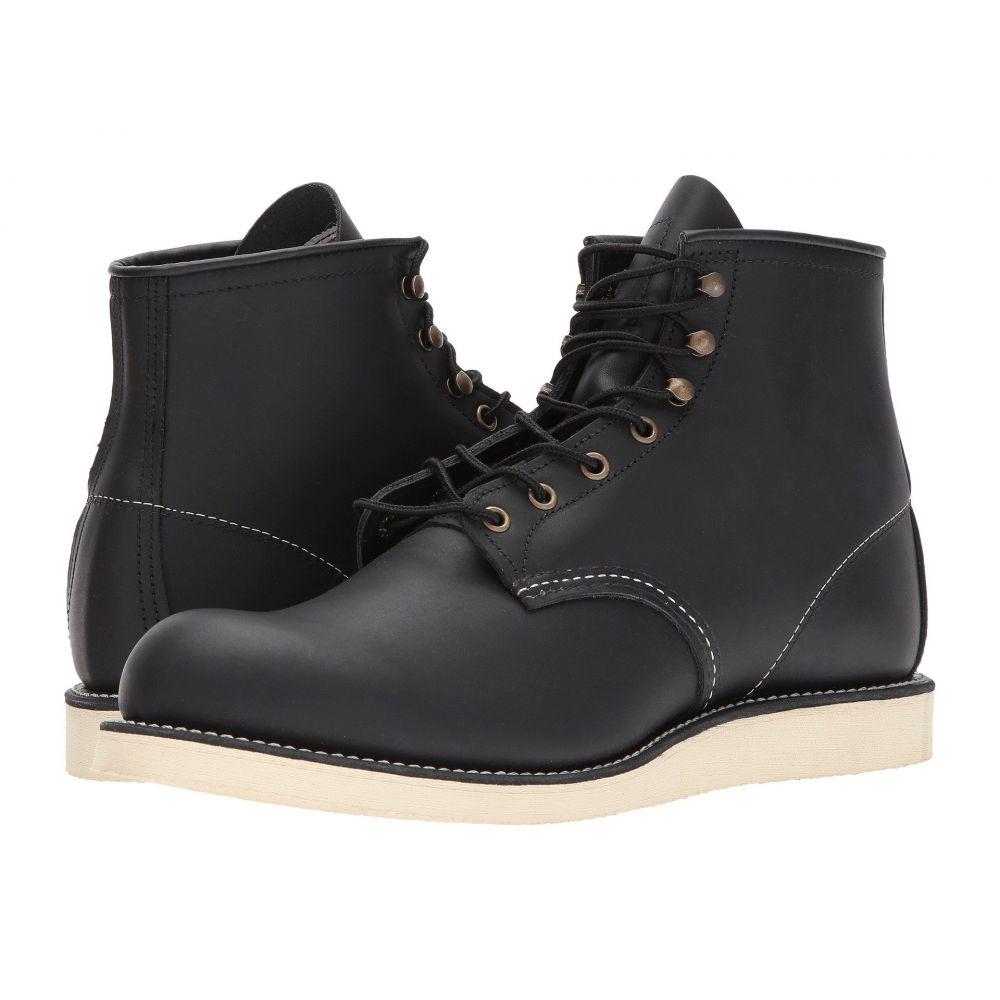 レッドウィング メンズ シューズ・靴 ブーツ【6 Rover Round Toe】Black Harness