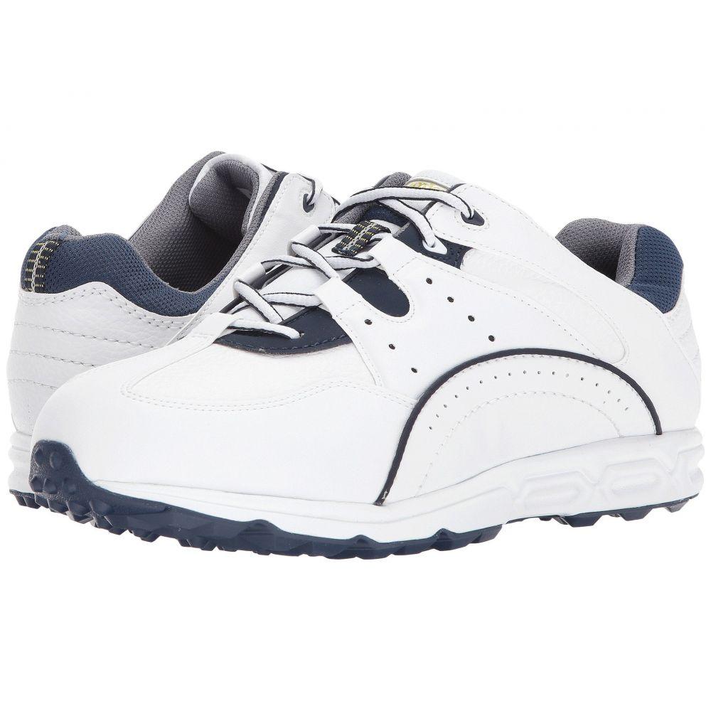 フットジョイ メンズ ゴルフ シューズ・靴【Golf Specialty Spikeless Athletic】White/Navy