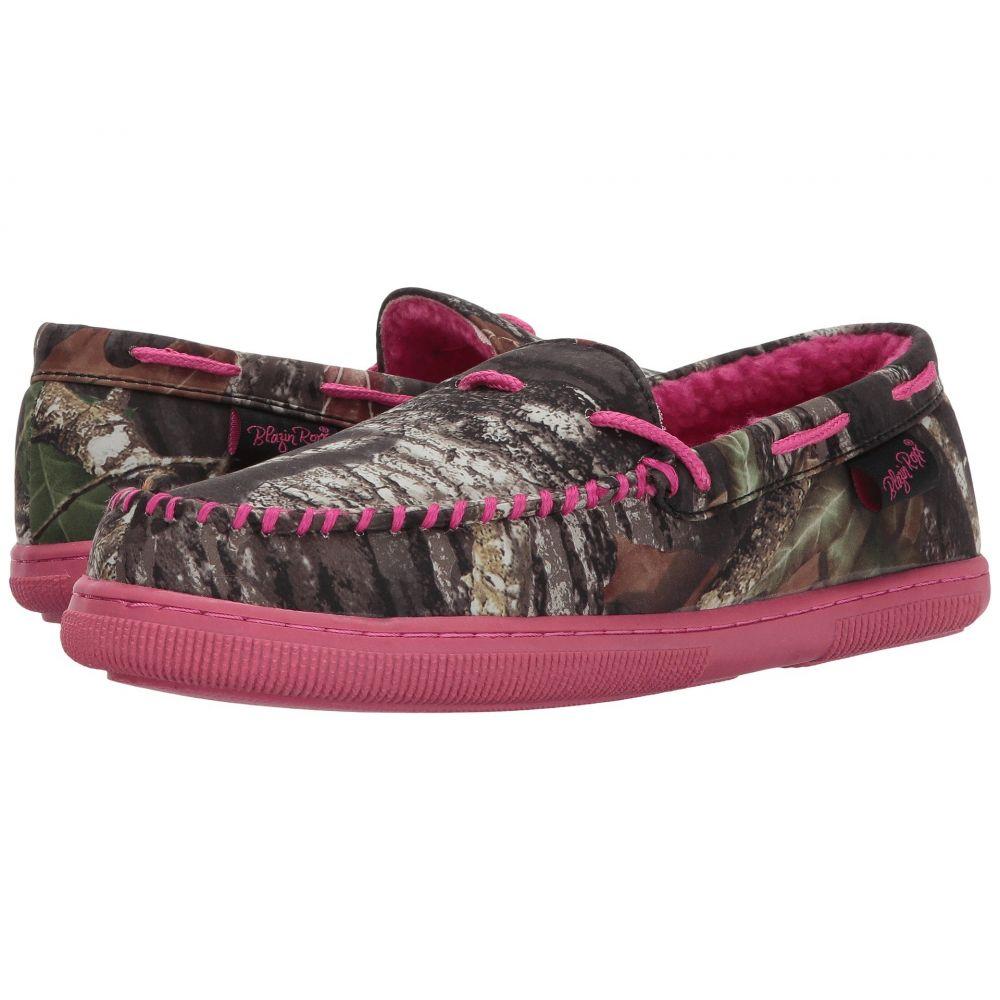 エムアンドエフ ウエスタン レディース シューズ・靴 スリッパ【Mossy Oak Moccasin Slippers】Hot Pink/Mossy Oak Camo