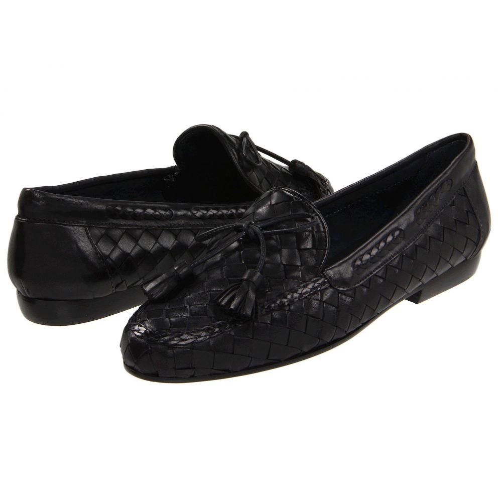 セスト メウッチ レディース シューズ・靴 ローファー・オックスフォード【Neda】Black Stained Calf