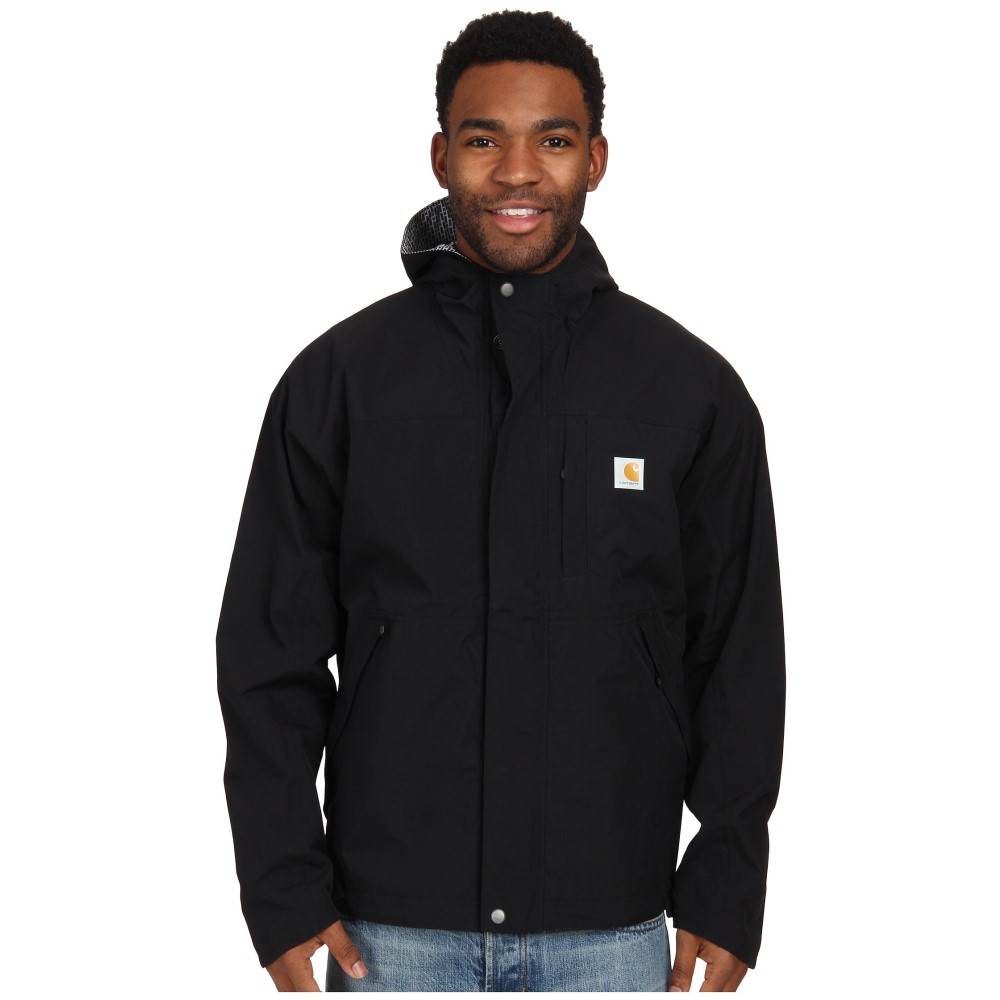 カーハート メンズ アウター レインコート【Shoreline Vapor Jacket】Black
