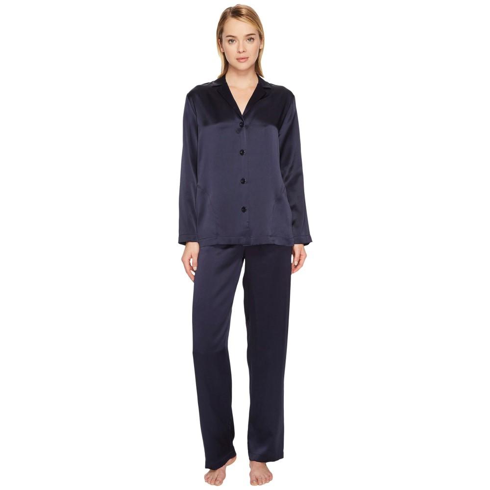 ラ ペルラ レディース インナー・下着 パジャマ・上下セット【Silk Pajama】Midnight Blue