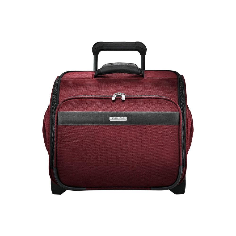 ブリッグスアンドライリー レディース バッグ スーツケース・キャリーバッグ【Transcend VX Rolling Cabin Bag】Merlot Red
