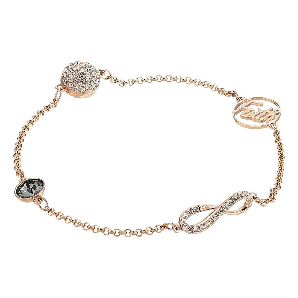 スワロフスキー レディース ジュエリー・アクセサリー ブレスレット【Swarovski Remix Collection Infinity Symbol Bracelet】White