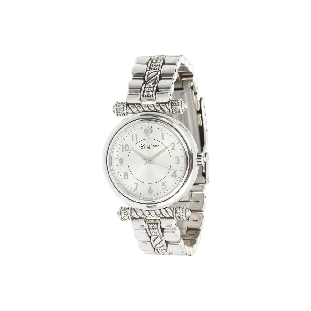 ブライトン レディース 腕時計【Highland Park】Silver/Stone