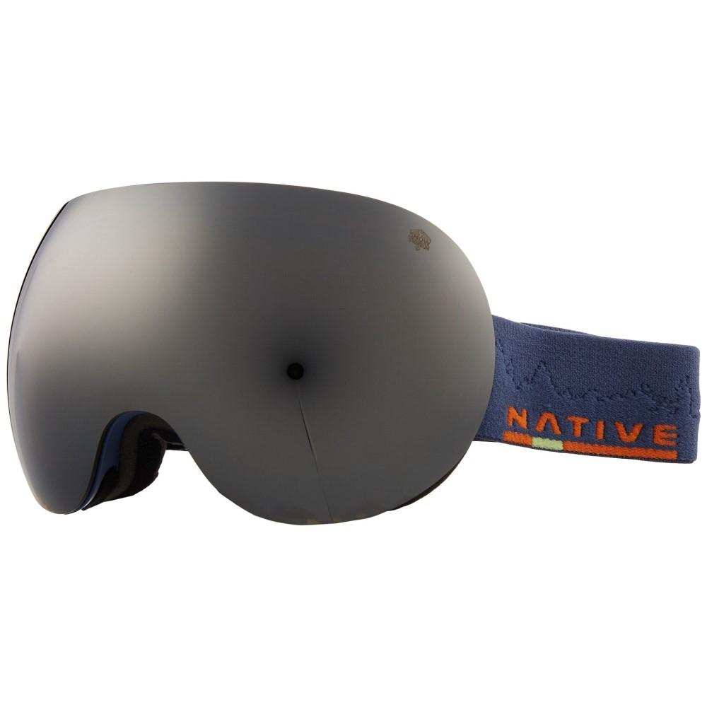 ネイティブアイウェア レディース スキー・スノーボード ゴーグル【Backbowl】Timber/Rose/Silver Reflex