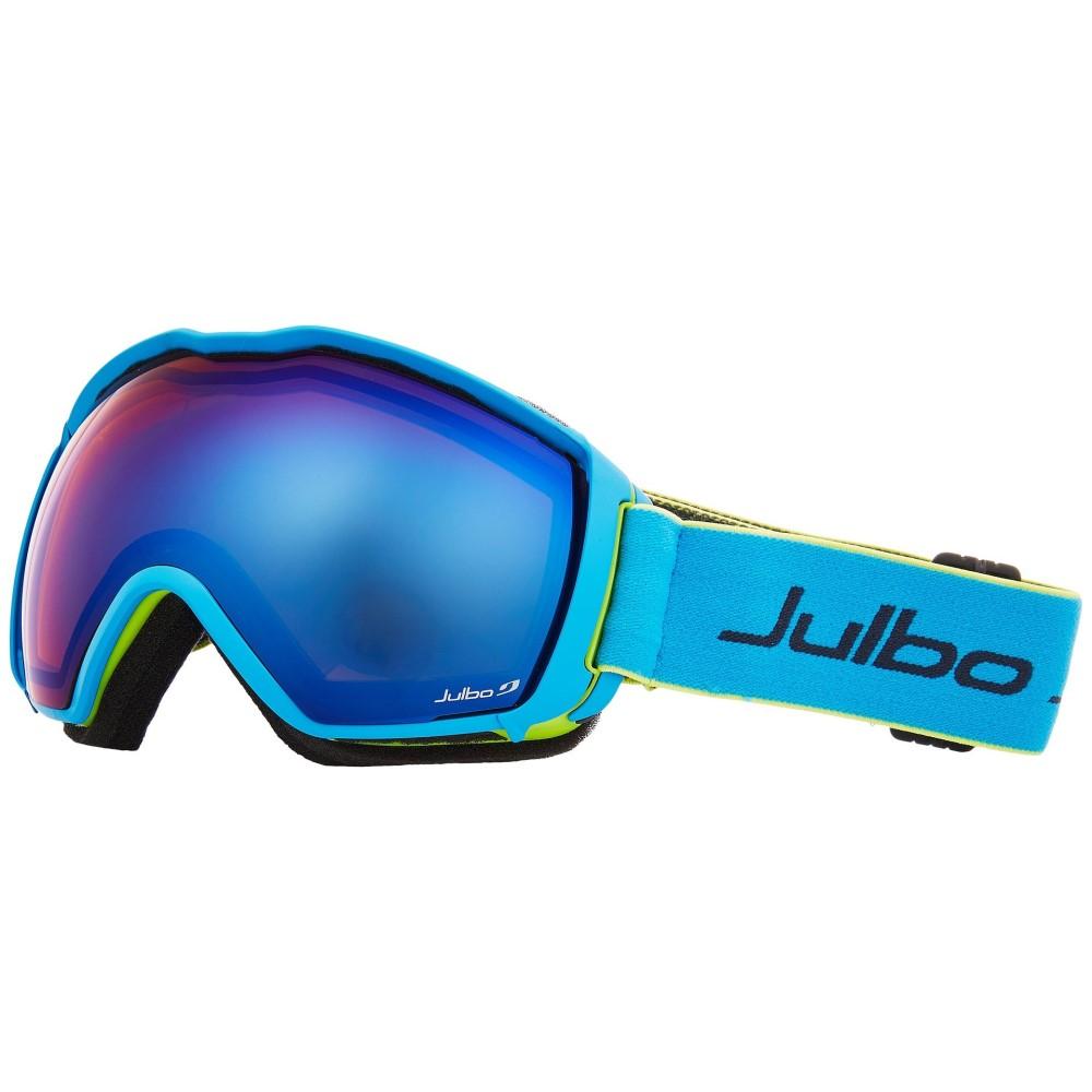 ジュルボ レディース スキー・スノーボード ゴーグル【Airflux】Green/Blue with Spectron 2 Color Flash Lens