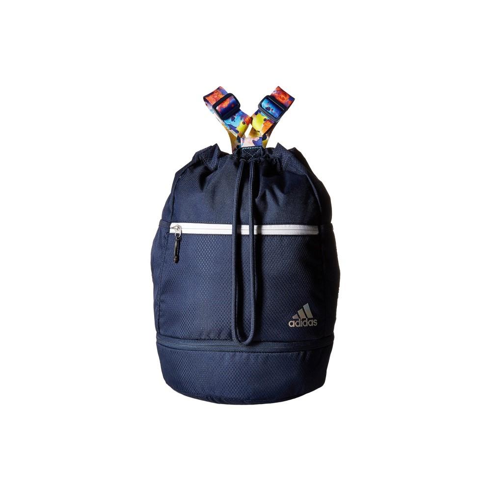 アディダス レディース バッグ バックパック・リュック【Squad Bucket Backpack】Collegiate Navy/Jodo/White