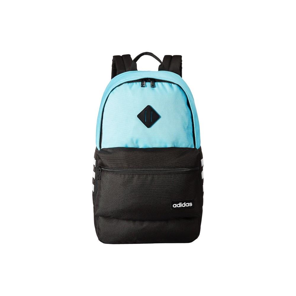 アディダス レディース バッグ バックパック・リュック【Classic 3S Backpack】Blue Glow/Black