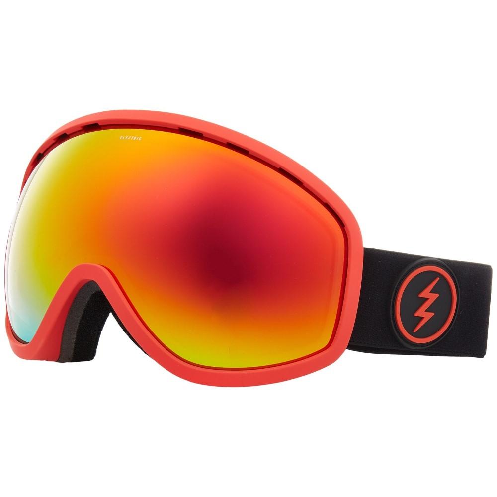 エレクトリック レディース スキー・スノーボード ゴーグル【Masher】Red Frame/Brose Red Chrome Lens