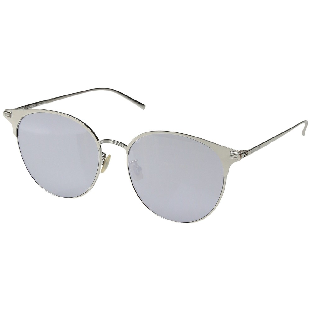 イヴ サンローラン レディース メガネ・サングラス【SL 202/K】Silver/White
