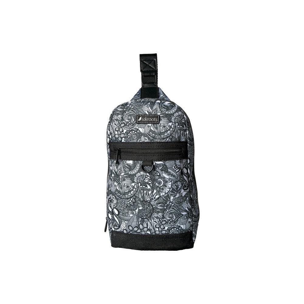 サックルーツ レディース バッグ バックパック・リュック【New Adventure Hiker Sling Backpack】Black/White Spirit Desert