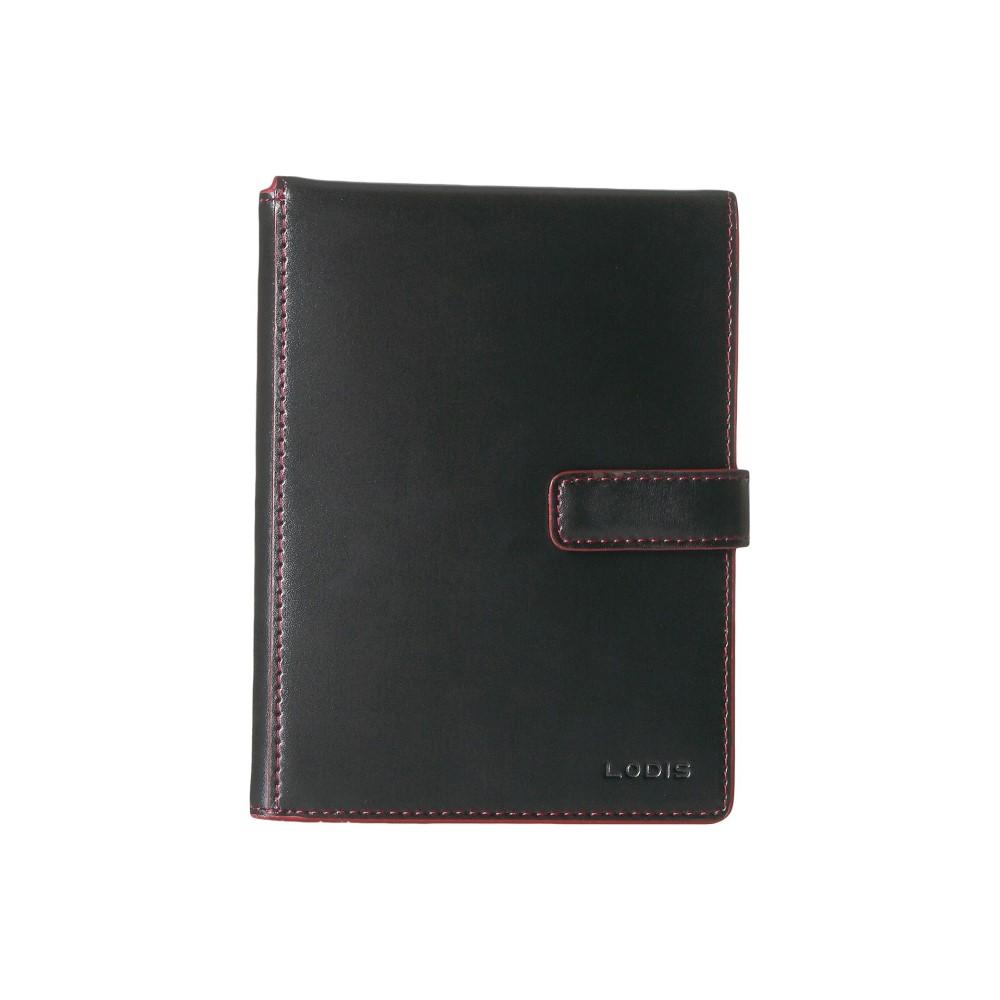 ロディス アクセサリー レディース パスポートケース【Audrey RFID Flip Ticket/Passport Wallet】Black RFID