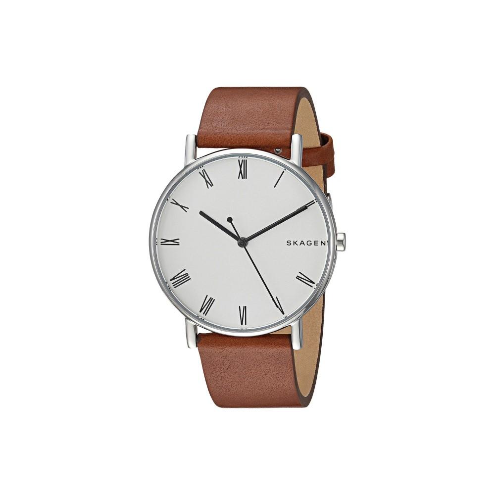 スカーゲン メンズ 腕時計【Signatur - SKW6427】Brown