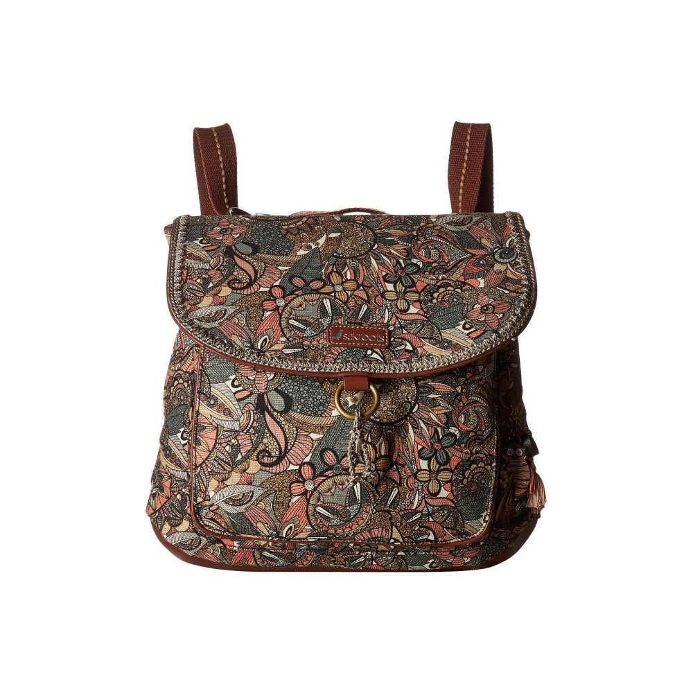 サックルーツ レディース バッグ バックパック・リュック【Convertible Backpack】Sienna Spirit Desert