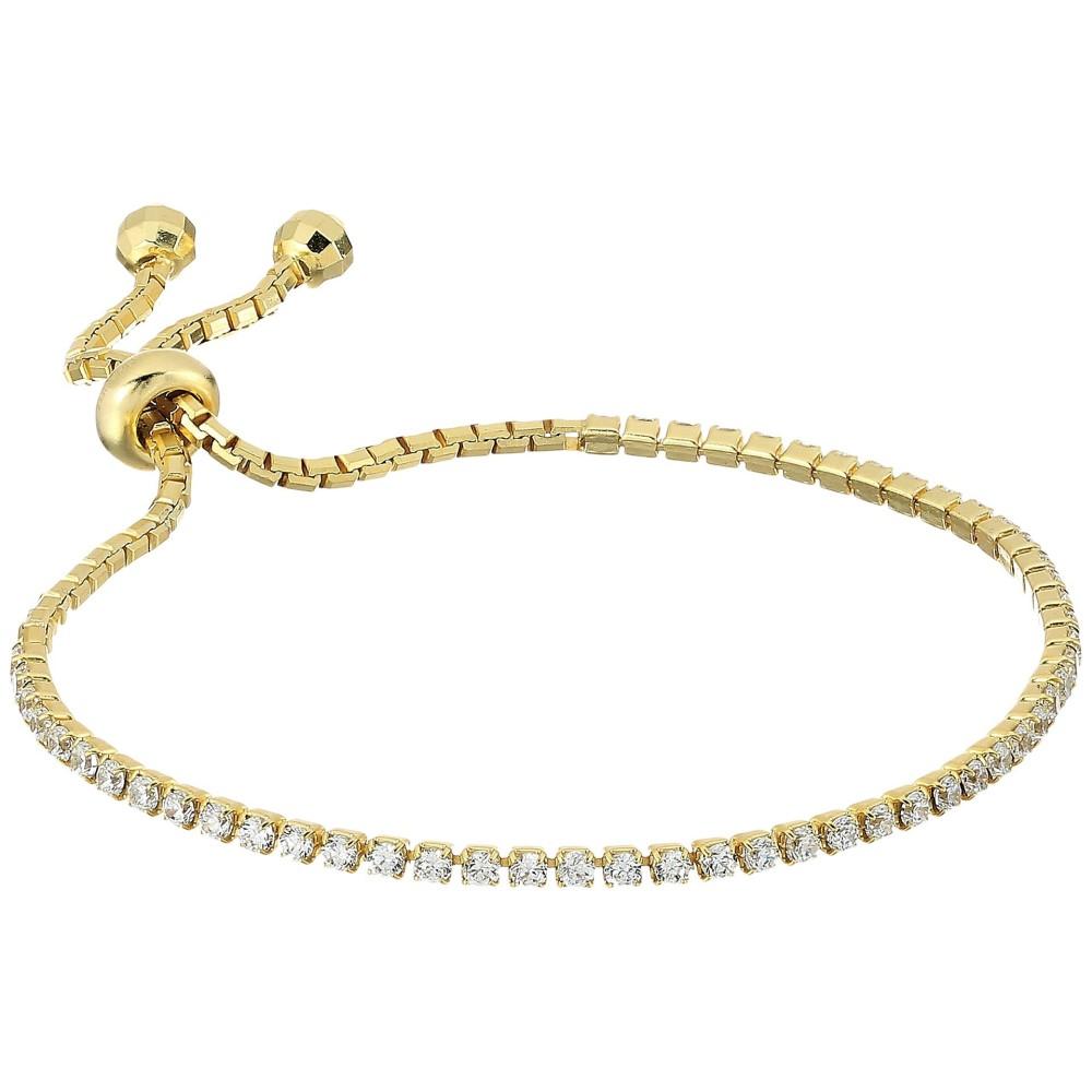 シャシ レディース ジュエリー・アクセサリー ブレスレット【Tennis Slide Bracelet】Gold/Vermeil