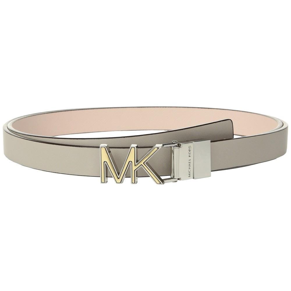 マイケル コース レディース ベルト【Reversible Two-Tone Logo Belt】Pearl Grey/Soft Pink