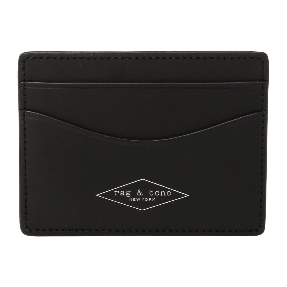 ラグ&ボーン レディース カードケース・名刺入れ【Hampshire Card Case】Black
