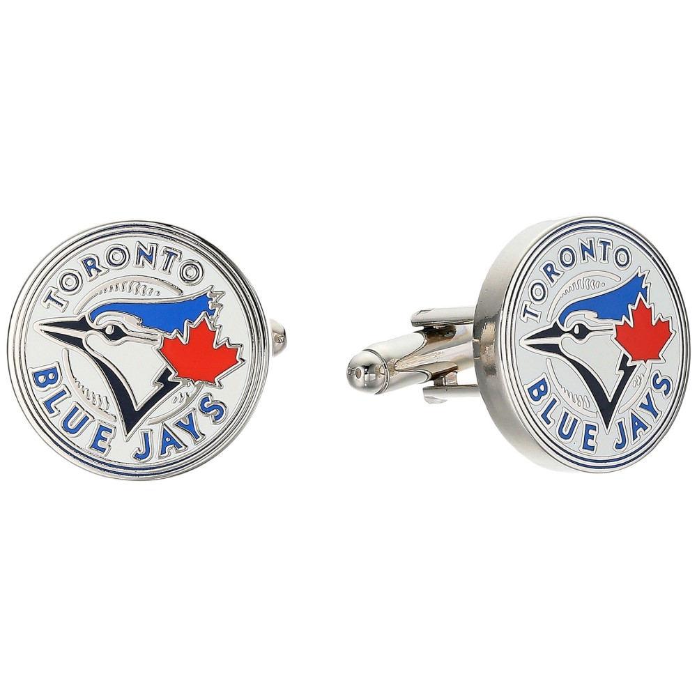 カフリンクス メンズ カフス・カフリンクス【Toronto Blue Jays Cufflinks】Blue