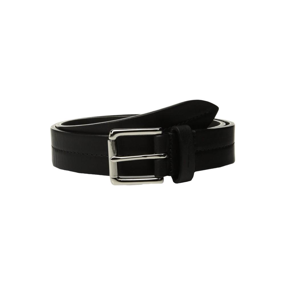 シャイノーラ メンズ ベルト【Bridle 1 1/4 Center Stitch Roller Belt】Black