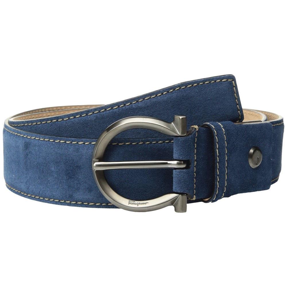 サルヴァトーレ フェラガモ メンズ ベルト【Adjustable Belt - 679770】Light Blue