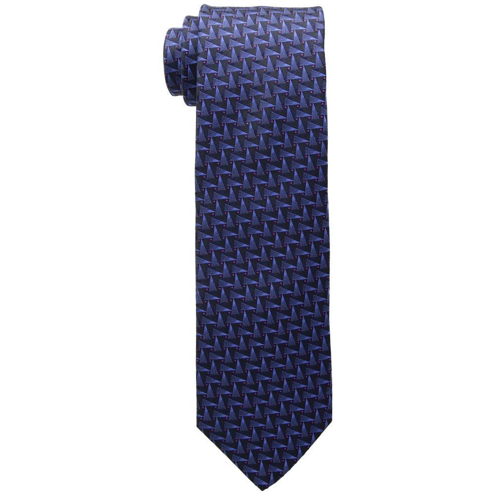 イートン メンズ ネクタイ【Geometric Tie】Navy