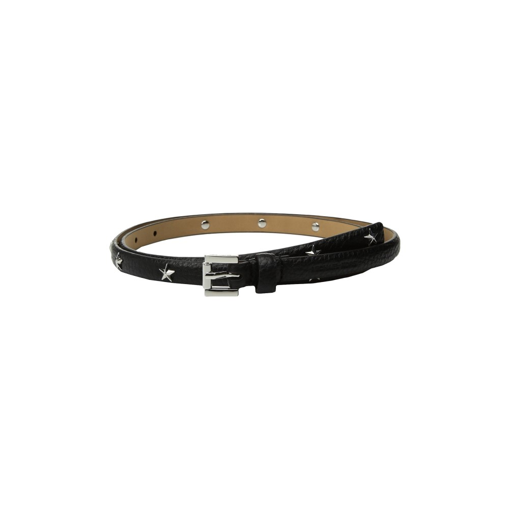マイケル コース レディース ベルト【13mm Skinny Pebble Star Belt】Black